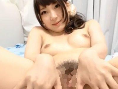 カメラ目線でオナニー中(ライブチャットキャプチャー動画)