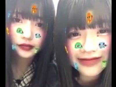スマホアプリで配信するヤンキー女子二人組