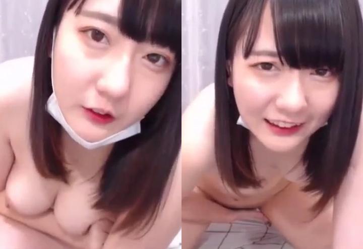 オナニー中の森永める(FC2ライブ)