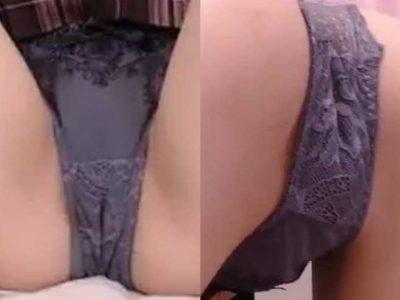 パンツが膣口に食い込んでるFC2ライブぽしゅ19歳